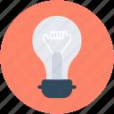 bulb, idea, light, light bulb, luminaire