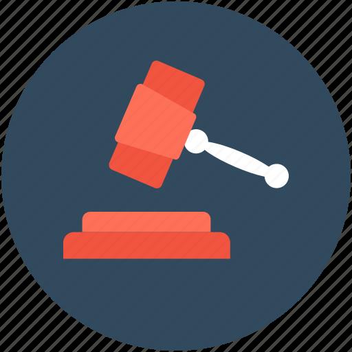 Auction, auction hammer, bid, gavel, mallet icon - Download on Iconfinder