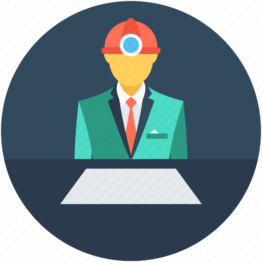 Architect, construction worker, engineer, labour, worker icon - Download on Iconfinder