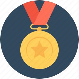 award, award badge, badge, ribbon badge, star badge icon