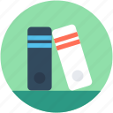 archives, documents, file folders, file storage, files rack icon