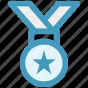 finance, medal, money, position, reward icon