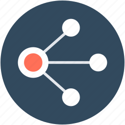 connection, connectivity, interconnection, network, share icon