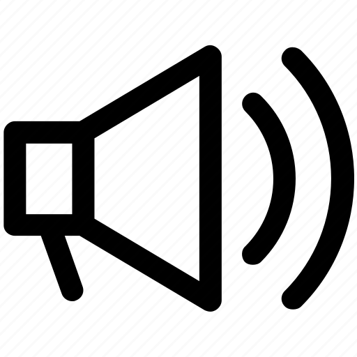 .svg, announcement, loudspeaker, megaphone, speaker, volume icon