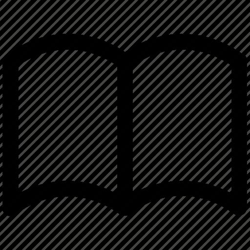 .svg, book, book mark, open, open book, reading icon
