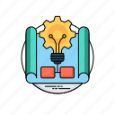 active learning, business idea, project idea, project management, project-based learning icon