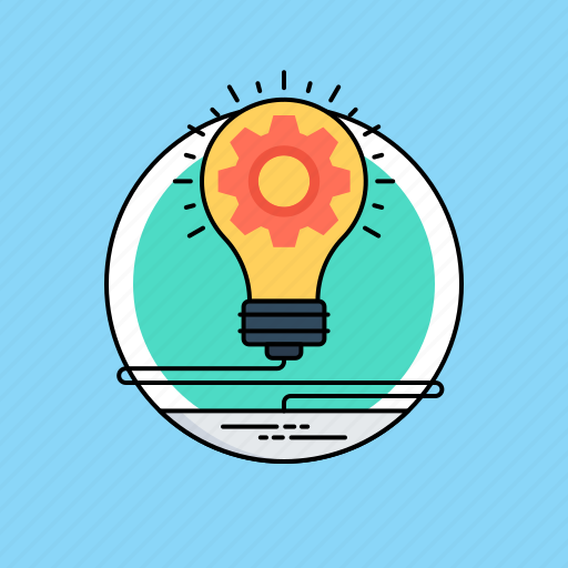 creative process, developing ideas, idea generation, ideation process, innovating concepts icon