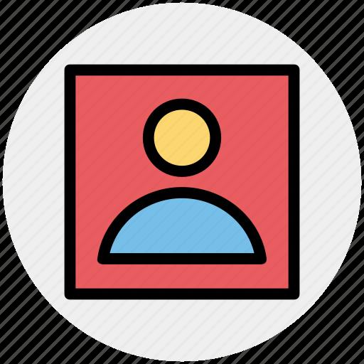 frame, male, picture, profile, user icon