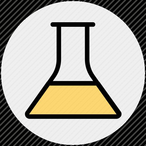 Beaker, test tube, tube, analysis, test, chemistry icon