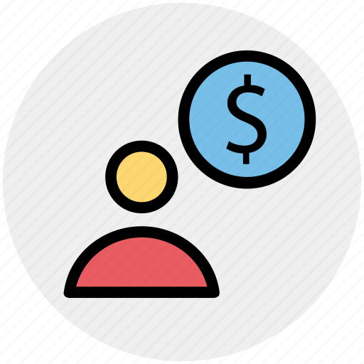 Accounting, banking, businessman, dollar, finance, user icon - Download on Iconfinder
