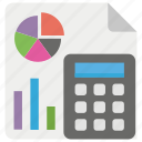 business report, financial accounting, financial report, graph sheet, market analysis