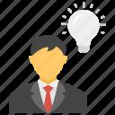 brainstorming, creative idea, creative mind, creative thinking, intelligent icon