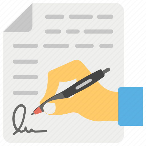 accord, agreement, contract, legal document, signing contract icon