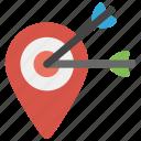 market segmentation, target campaign, target marketing, targeted advertising, targeting icon