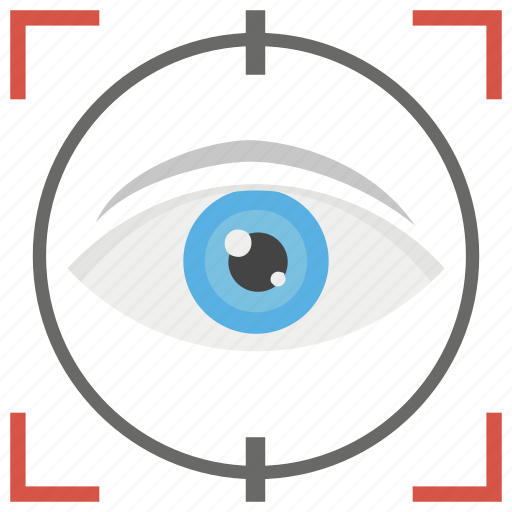 conception, monitoring, remote monitoring, vision, visualize checking icon