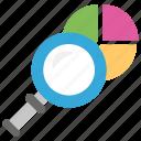 business performance, data analysis, data analytics, market research, statistics icon