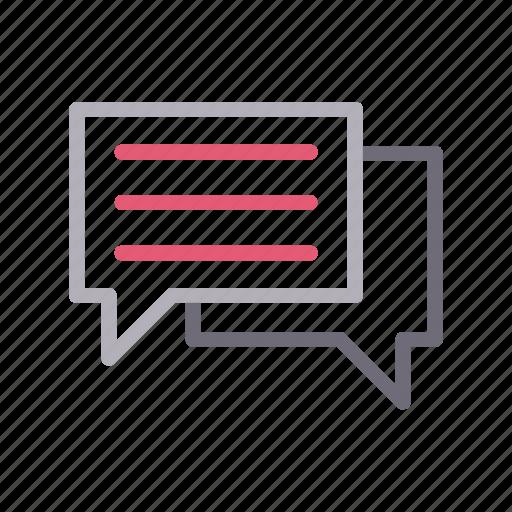 chat, conversation, message, speech, support icon