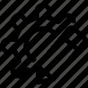 brand, custom, development icon