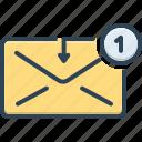 communication, dialog, envelope, inbox, message, reminder, spam