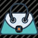 accessory, bag, hand bag, pouch, purse, sack, satchel