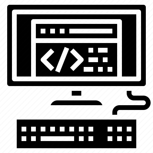 computer, computing, electronics, language, multimedia, programing, screen icon