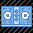disc, jockey, music, turntable, vinyl icon