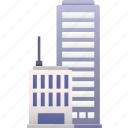 business, center, city, commerce, office, property, skyscraper icon