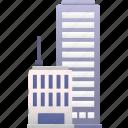 business, center, city, commerce, office, property, skyscraper
