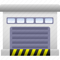 car, garage, house, office, parking, property, storage icon