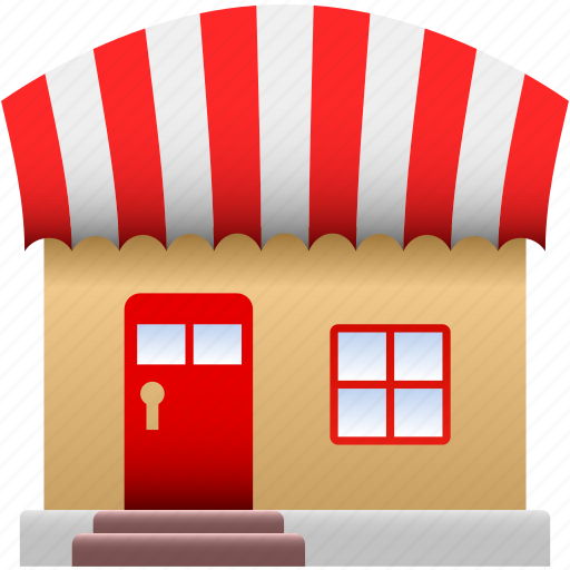 business, commercial, property, retail, shop, stall, store icon