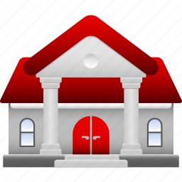 big, home, house, mansion, property, residential, rich icon