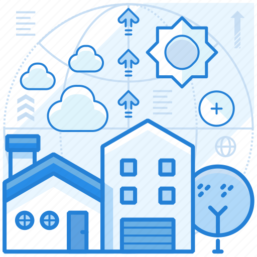 home, house, rebuild, remodel icon