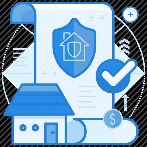 estate, insurance, property icon