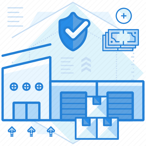 container, rent, storage, stored icon