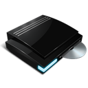 dvd, playstation 3, ps, rom icon