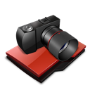 camera, folder, photography icon