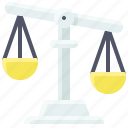 balance, beam balance, imbalance, inquality, justice, law icon