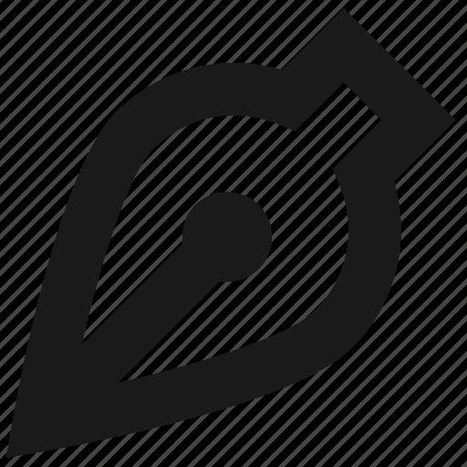 bezier, curve, draw, edit, pen, pencil, tool icon