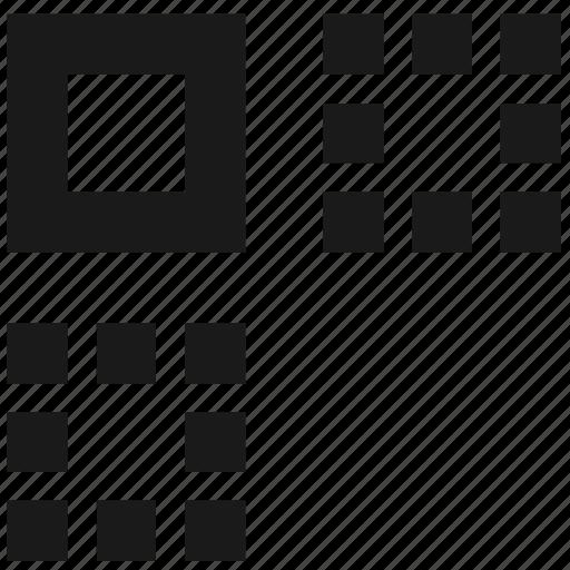 copy, distribute, duplicate, grid, location, move, shapes icon
