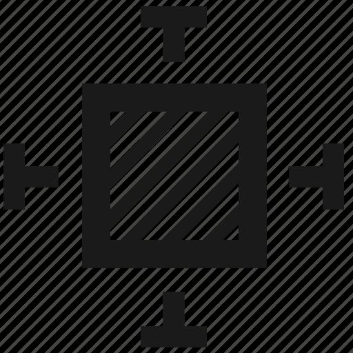 fullscreen, resize, resizing, size icon
