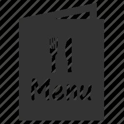 bar, dessert, food, list of food, menu, pub, restaurant icon