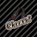 bottles, pub, cheers, celebrating, beers, drinking, alkohol