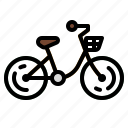 bicycle, bike, cycling, cyclist, ride icon