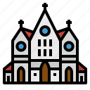 architecture, christian, church, cultures, religion icon
