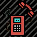 box, call, communication, phone, telephone icon