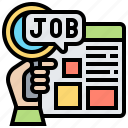 finding, job, recruitment, search, website