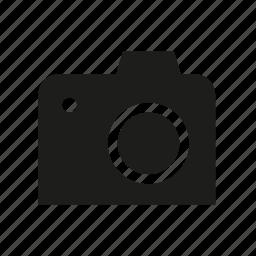 average camera, camera, digital camera, dslr, photo, photography icon