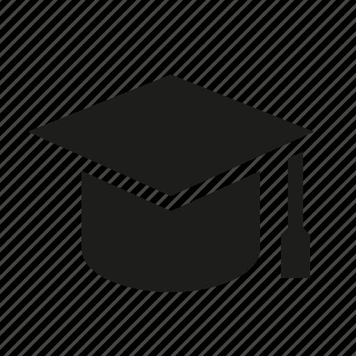 college, education, graduation, mortar board, student, university icon