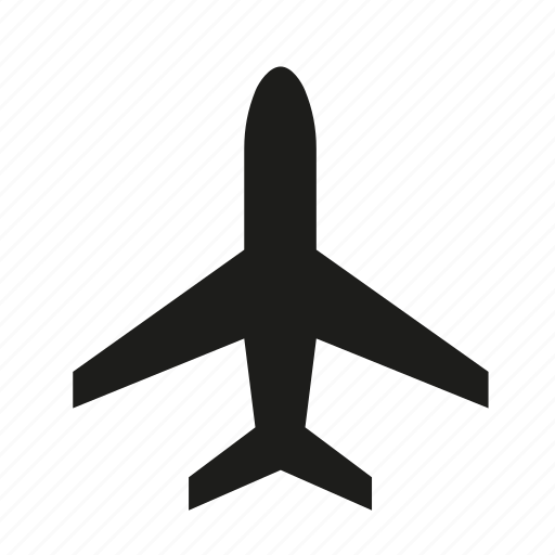 aeroplane, air plane, airplane, flight, fly, plane icon