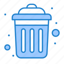 dustbin, garbage, public, recycle icon